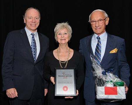 Fondation Elizabeth et Roger Parent - Mention spéciale du CA 2015
