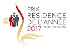 Prix distinction 2017 - Résidence de l'année 99 unités et moins