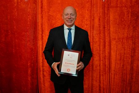 Luc Maurice, lauréat de la Mention spéciale du CA - Prix distinction 2018