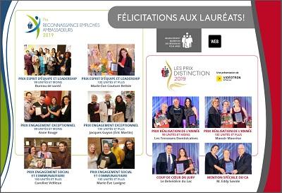 Lauréats RQRA 2019 - Le Devoir