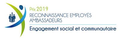 Prix engagement social et communautaire 2019