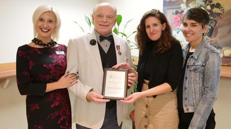 Jacques Guyon lauréat du Prix engagement exceptionnel 100 unités et plus