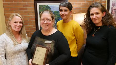 Marie-Ève Lavigne lauréate Prix engagement social et communautaire