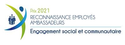 Prix engagement social et communautaire